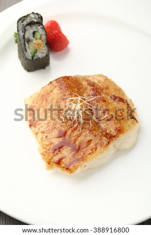 pan seared fish