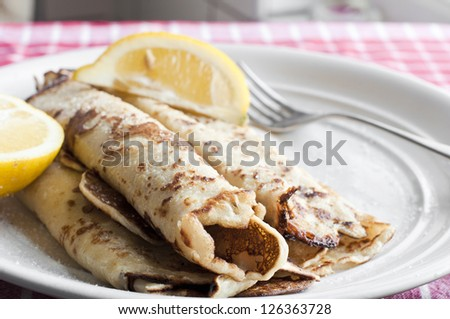Pancake day - stock photo