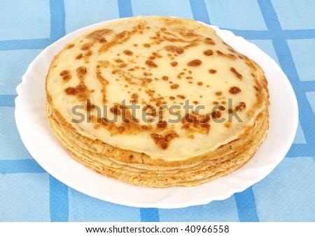 Pancakes - stock photo