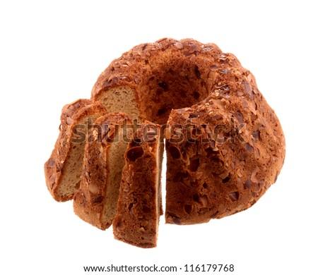 Pandoro Christmas Cake - stock photo