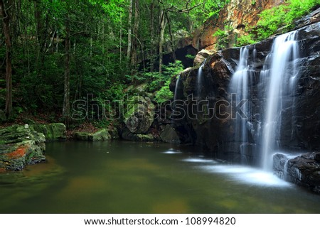 Pang Sida National Park, east of Thailand - stock photo