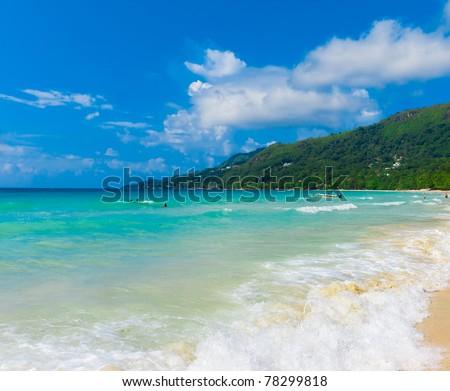 Panorama Dream Bay - stock photo