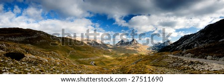 Panorama Montenegro - stock photo