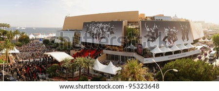 Panorama of Le Palais des Festivals during the 60th Annual International Film Festival de Cannes. May 26, 2007  Cannes, France.  2007 Paul Smith / Featureflash - stock photo