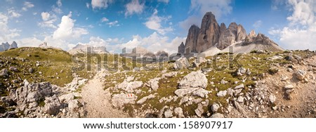 Panorama - Photo of Tre Cime - Dolomite - Italy