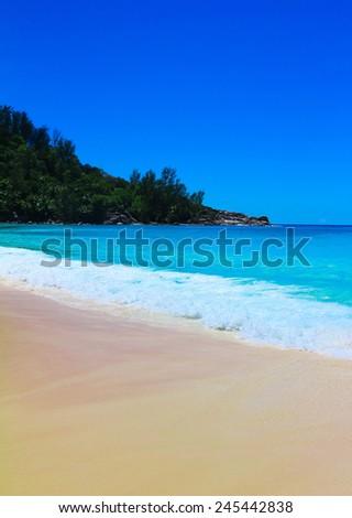 Panorama Shore Bay  - stock photo