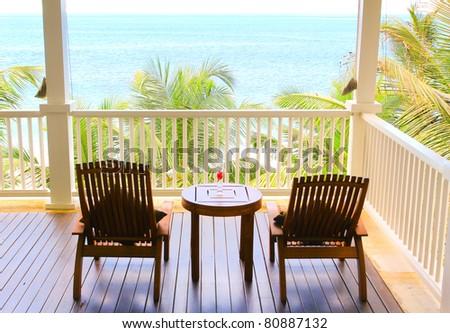 Panorama View Summer - stock photo
