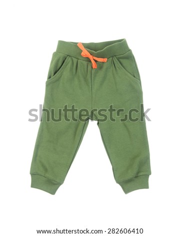 pant's. Children's pant's on background. Children's pant's on a background - stock photo