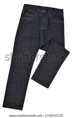 Pants isolated against white background.