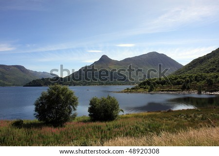 Pap of Glencoe. - stock photo