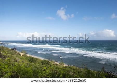 Papaa Beach, Kauai, Hawaii - stock photo