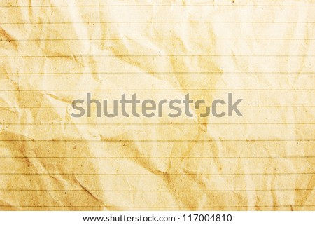 Paper Background With Line - stock photo
