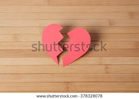 The broken heart essay imagery