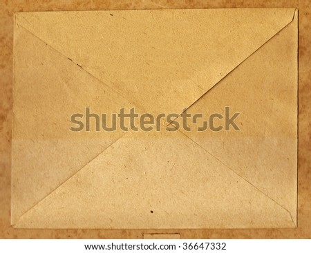 Paper brown envelope - stock photo