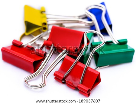 Paper clips for a documents