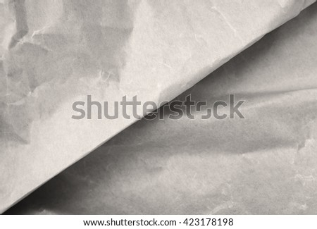 Paper creased texture vintage background