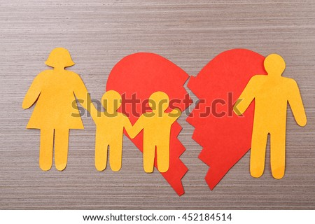 broken family causes and effect