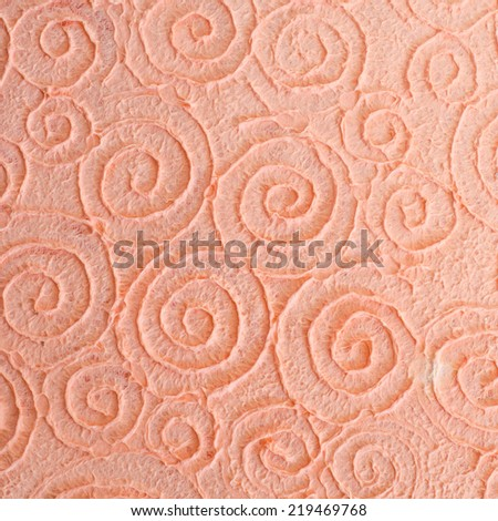 Paper from natural fibers mulberry paper texture - stock photo
