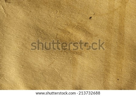 Paper grunge texture  with drops of coffee - stock photo