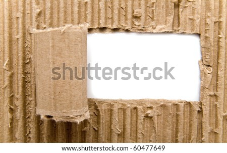 paper on a white background - stock photo