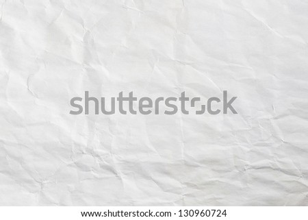 Paper page wrinkled - stock photo
