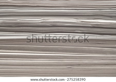 paper stack closeup background texture - stock photo