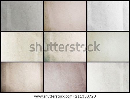 Paper texture background, Collection background template for design work  - stock photo