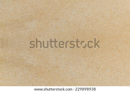 Paper texture - brown paper sheet . - stock photo