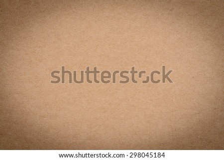 Paper texture - brown paper sheet background - vintage effect style pictures. - stock photo