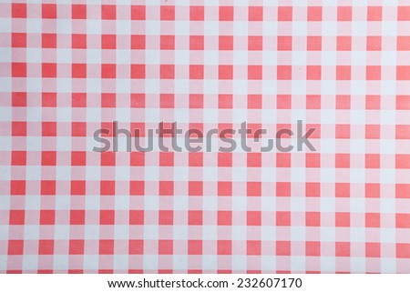 Paper texture in checkered