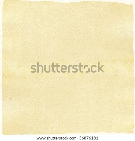 Paper texture isolated over white