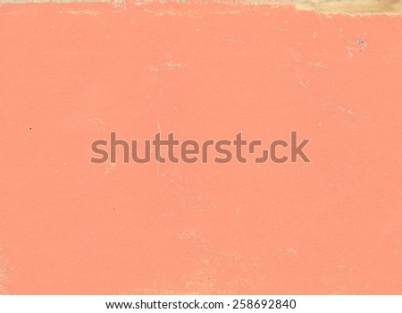 Paper texture of red color - stock photo