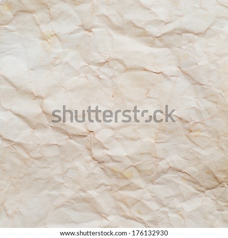 Paper texture or background. Old  paper sheet. - stock photo
