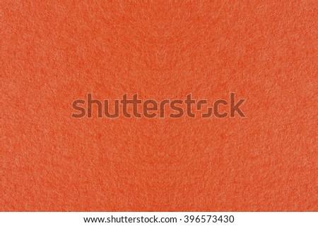 Paper texture - orange kraft sheet background. - stock photo