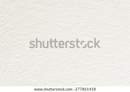Paper texture. White watercolor paper texture background - stock photo