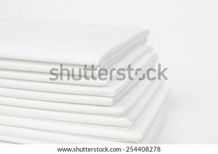 paper tissues - stock photo