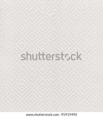 Paper towel with diamond pattern background texture in high resolution