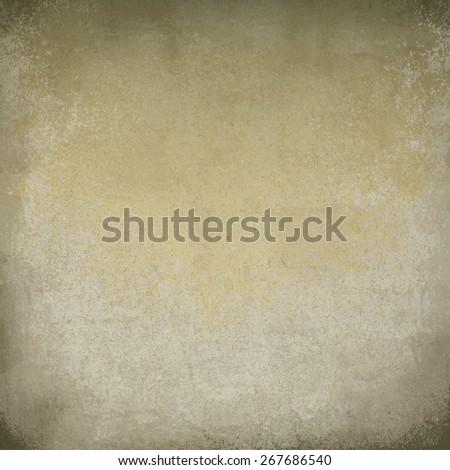 paper wall yellow grunge - stock photo