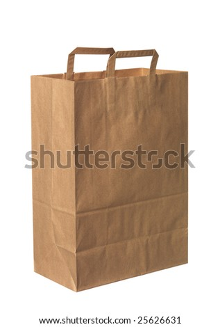 Paperbag - stock photo