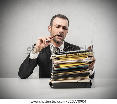 Paperwork  - stock photo