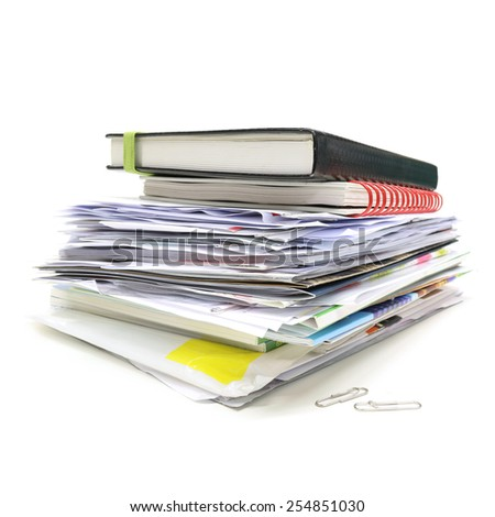 Paperwork - stock photo