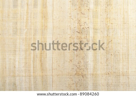 Papyrus type paper texture use as background - stock photo