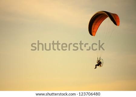 para motor glider - stock photo
