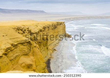 Paracas National Reserve, Peru - stock photo