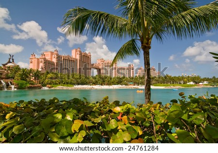 Paradise Island Resort - stock photo