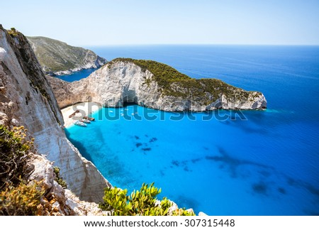 Paradise vacation destination - stock photo