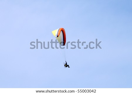Paragliding training near Aveiro, a popular training center in Portugal