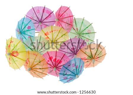 parasols - stock photo
