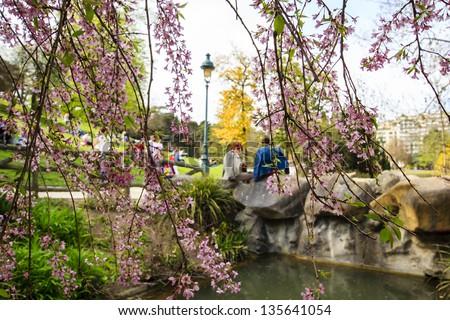 Parc Montsouris, Paris, France - stock photo