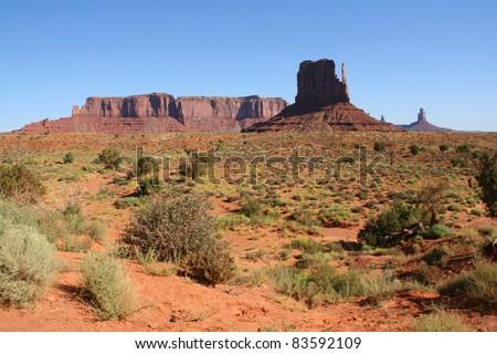 Parc national de Monument Valley Navajo Tribal Park, usa 15 - stock photo